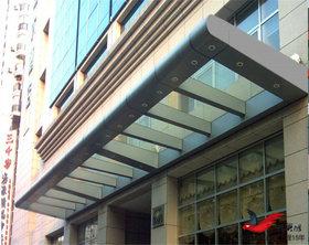 MT009大厦门头雨棚商场门头雨棚,酒店门头雨棚