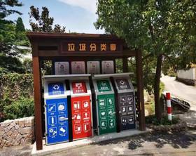 LJF智慧垃圾房定制户外垃圾处理房垃圾收集站